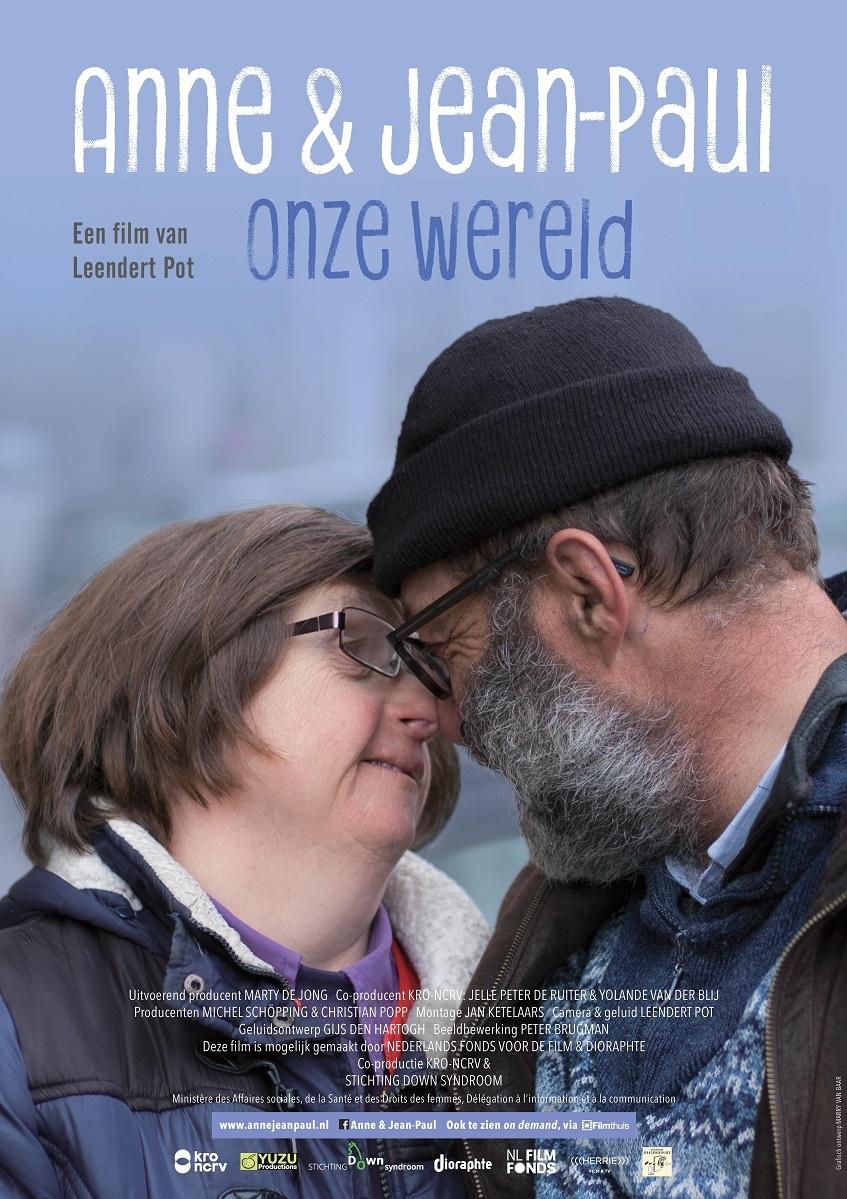 Anne & Jean-Paul, onze wereld poster, copyright in handen van productiestudio en/of distributeur