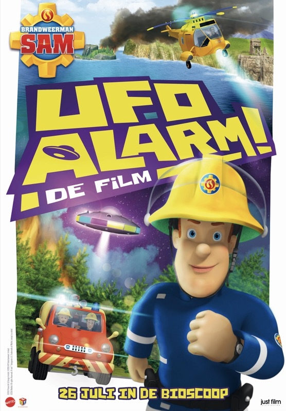 Fireman Sam: Alien Alert! The Movie poster, © 2016 Just Film Distribution