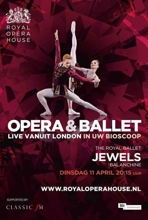 Ballet: Jewels poster, copyright in handen van productiestudio en/of distributeur