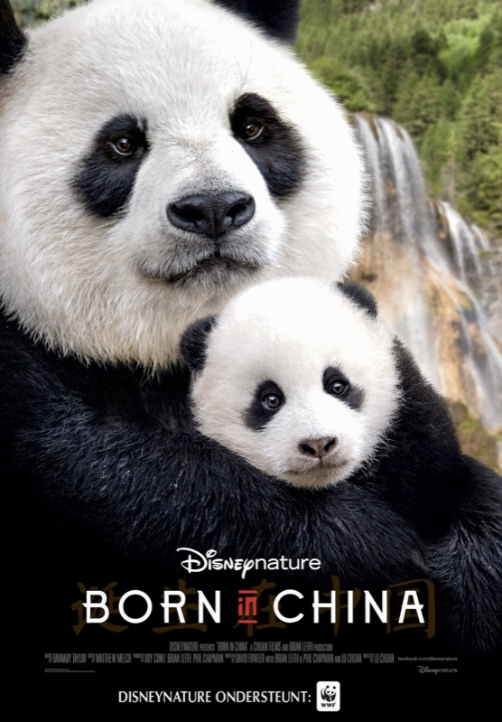 Born in China poster, © 2016 Walt Disney Pictures