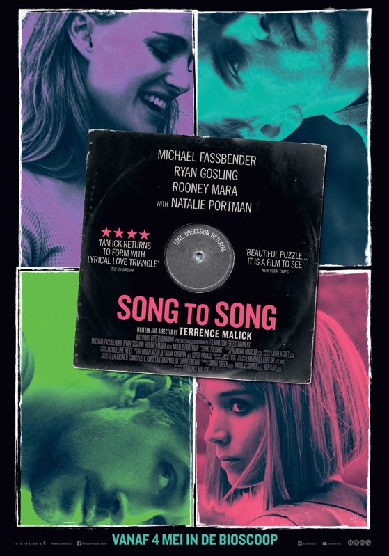 Song to Song poster, © 2017 Cinéart