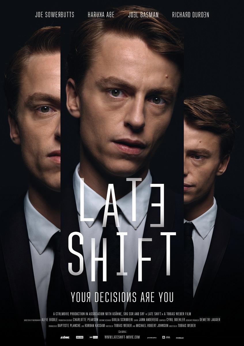 Late Shift poster, copyright in handen van productiestudio en/of distributeur