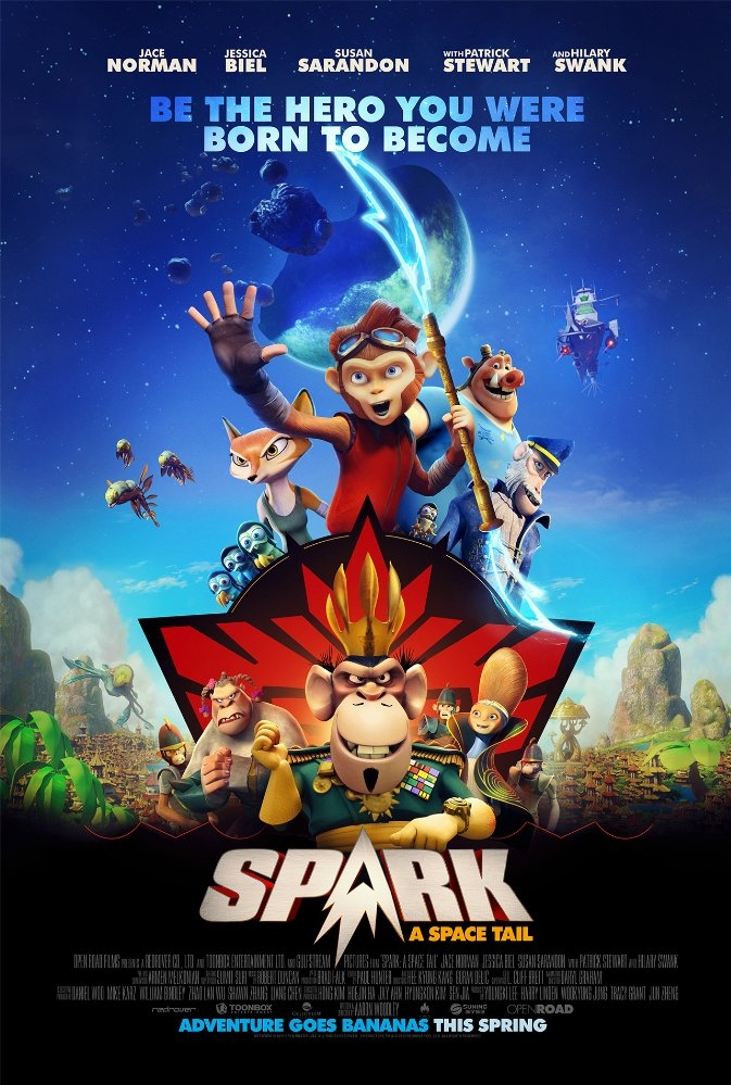 Spark: A Space Tail poster, copyright in handen van productiestudio en/of distributeur