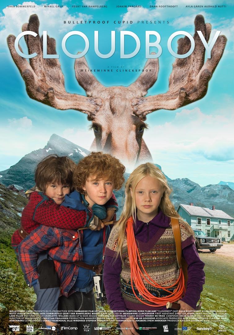 Cloudboy poster, copyright in handen van productiestudio en/of distributeur