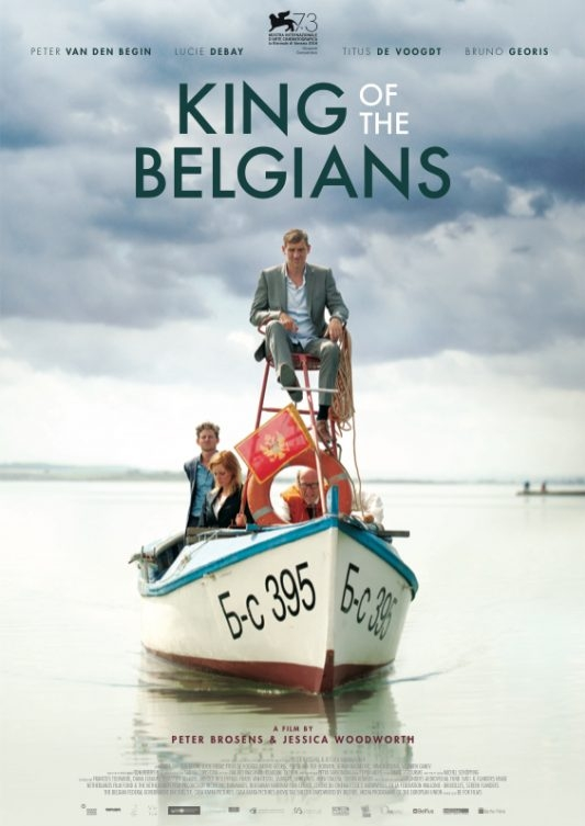 King of the Belgians poster, © 2016 Contact Film