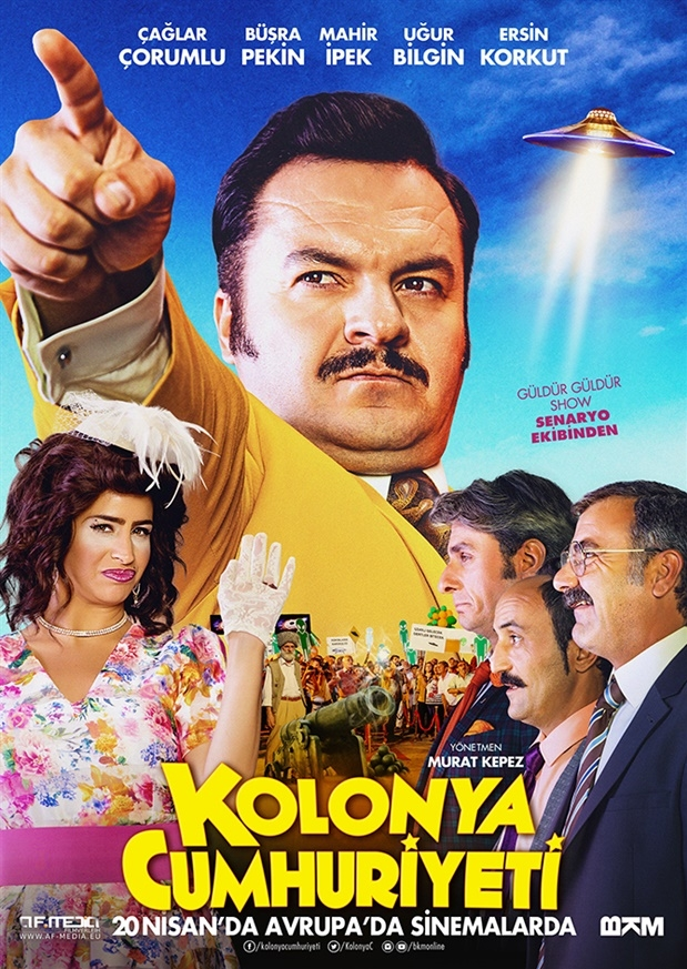 Kolonya Cumhuriyeti poster, copyright in handen van productiestudio en/of distributeur