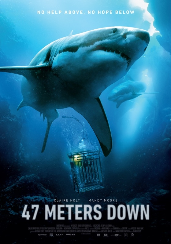 47 Meters Down poster, © 2016 Dutch FilmWorks