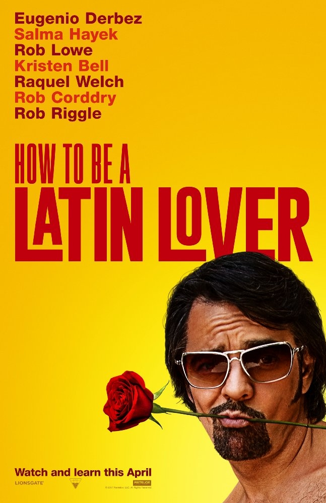How to Be a Latin Lover poster, copyright in handen van productiestudio en/of distributeur