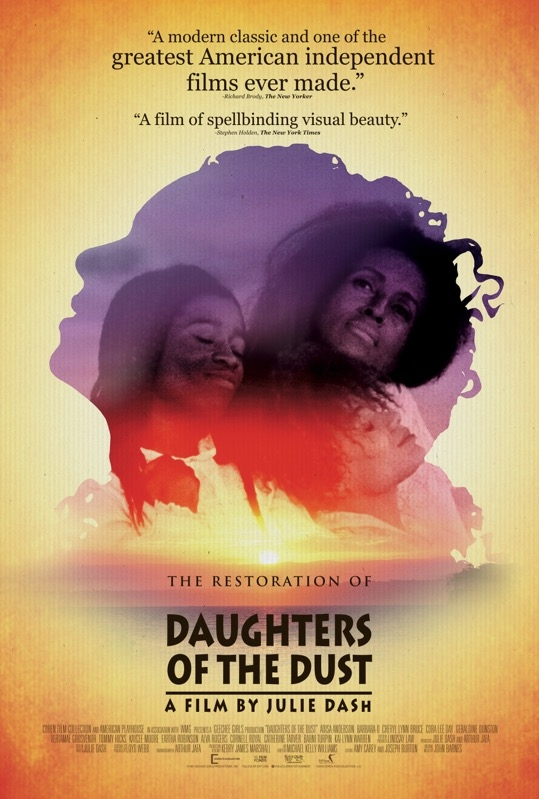 Daughters of the Dust poster, © 1991 Full Colour Entertainment