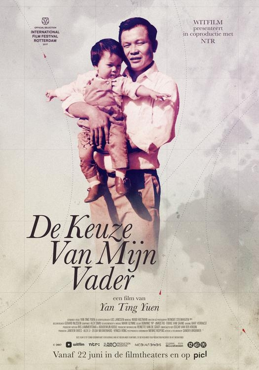 De keuze van mijn vader poster, copyright in handen van productiestudio en/of distributeur