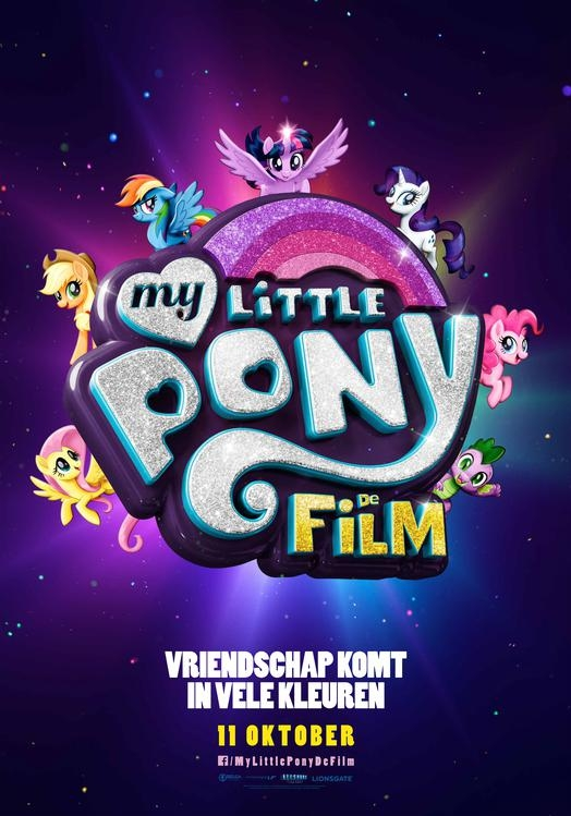 My Little Pony: The Movie poster, © 2017 Independent Films
