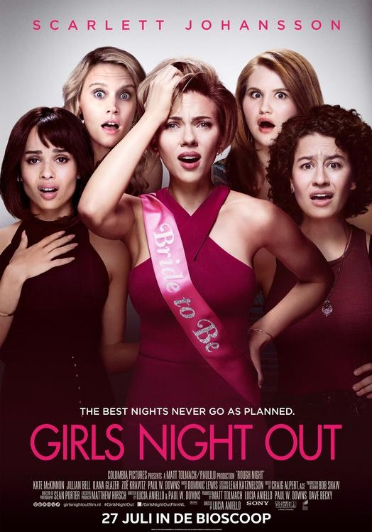 Rough Night poster, © 2017 Universal Pictures International