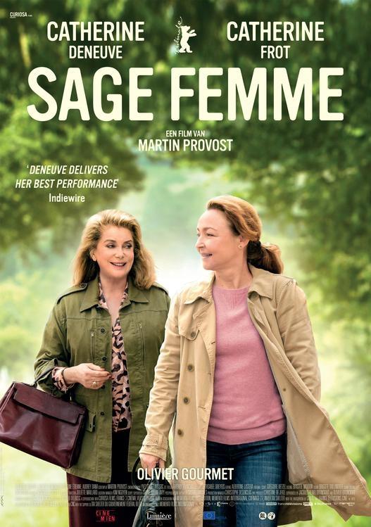 Sage femme poster, © 2017 Cinemien