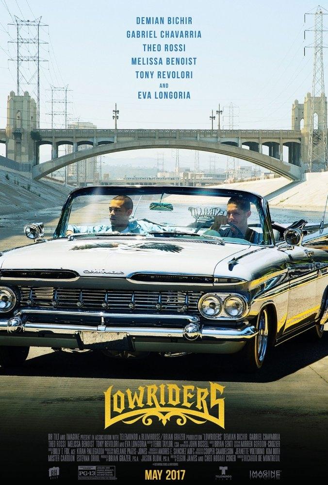Lowriders poster, copyright in handen van productiestudio en/of distributeur