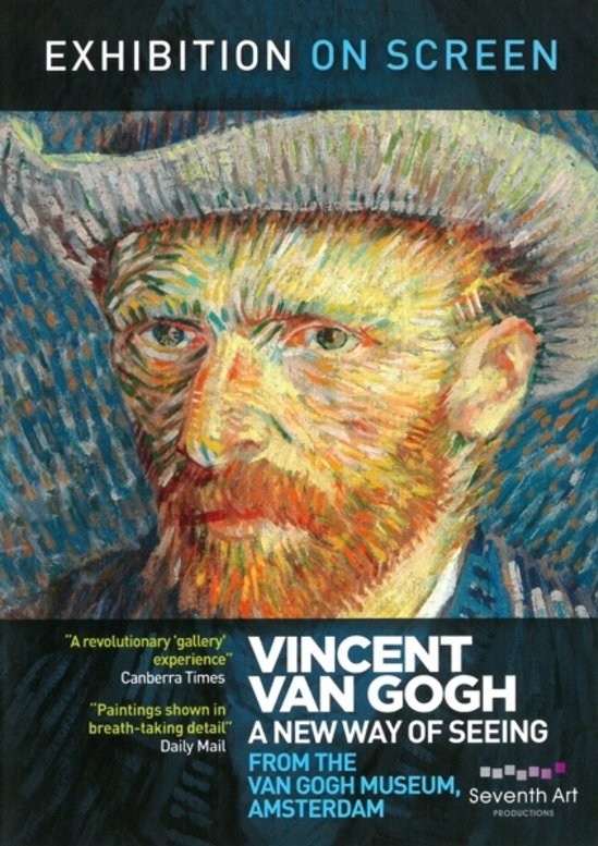 EOS: Van Gogh: A New Way of Seeing poster, copyright in handen van productiestudio en/of distributeur