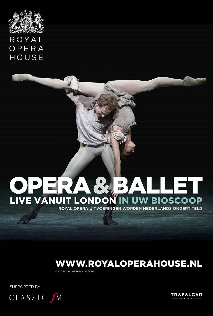 The Royal Ballet: Bernstein Celebration poster, copyright in handen van productiestudio en/of distributeur