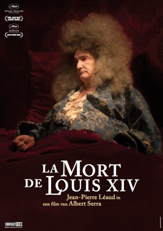 La mort de Louis XIV poster, © 2016 Contact Film