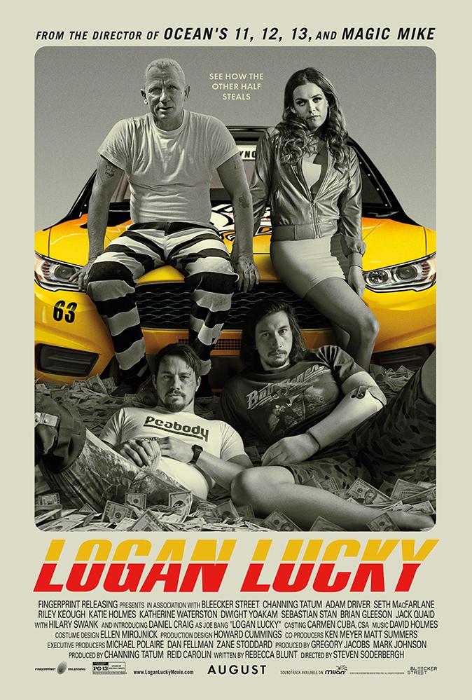 Logan Lucky poster, © 2017 Dutch FilmWorks