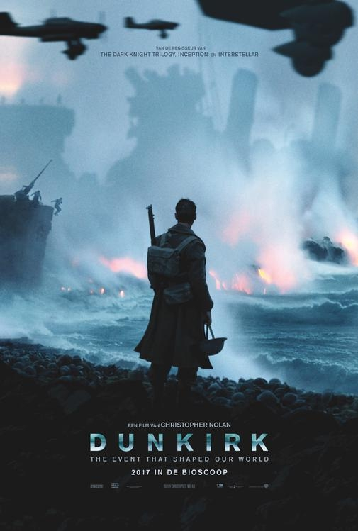 Dunkirk poster, © 2017 Warner Bros.