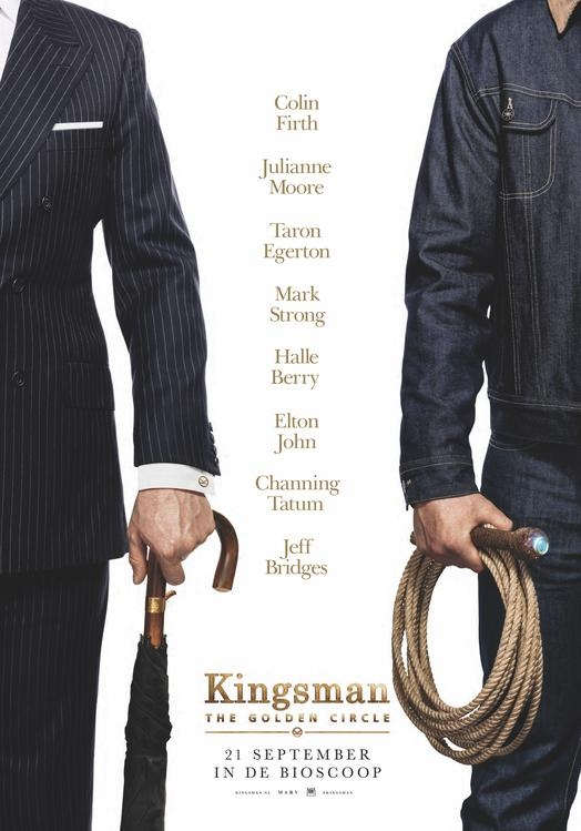 Kingsman: The Golden Circle poster, © 2017 20th Century Fox