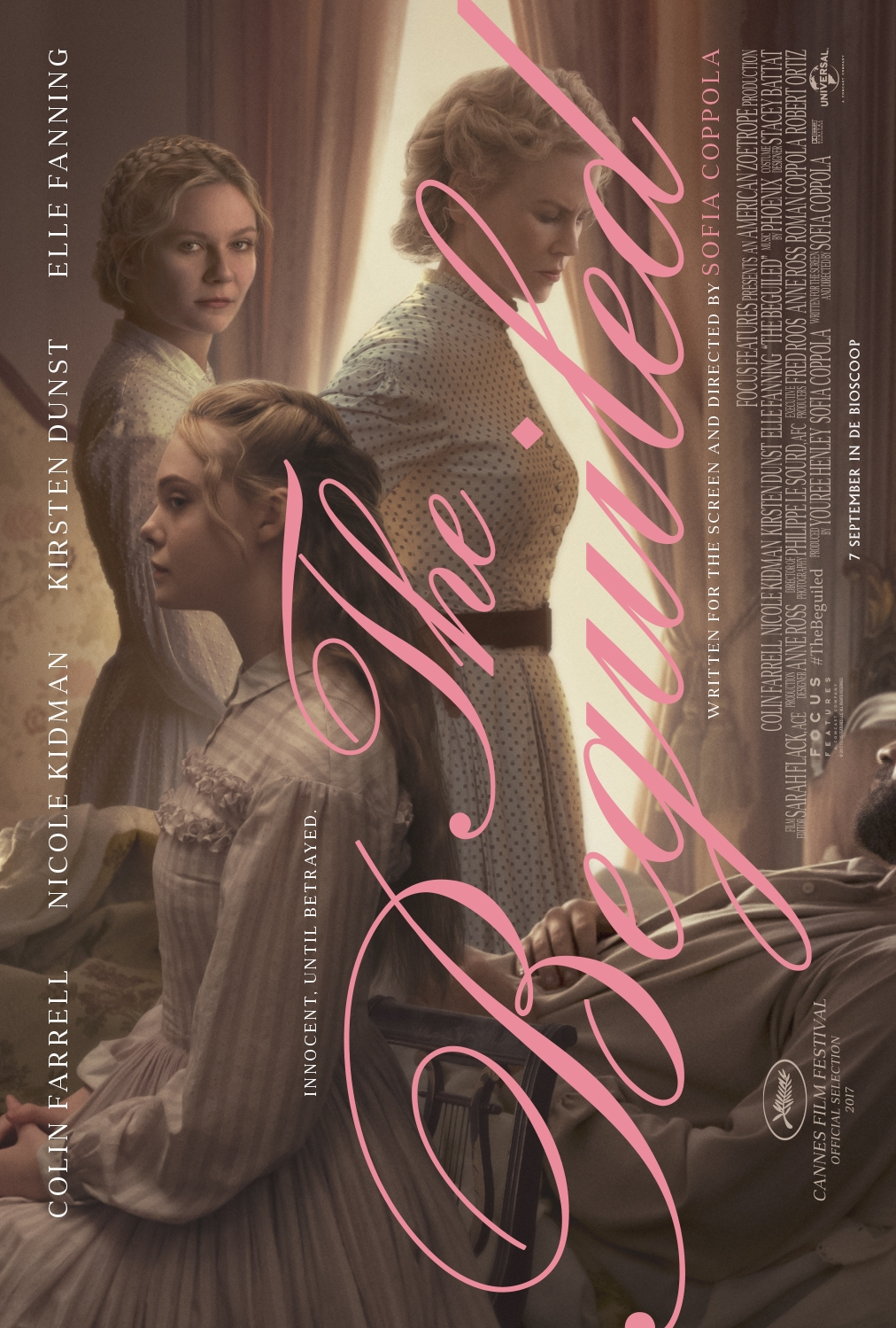 The Beguiled poster, © 2017 Universal Pictures International