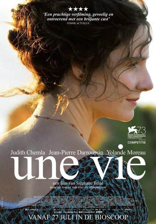 Une vie poster, © 2016 September