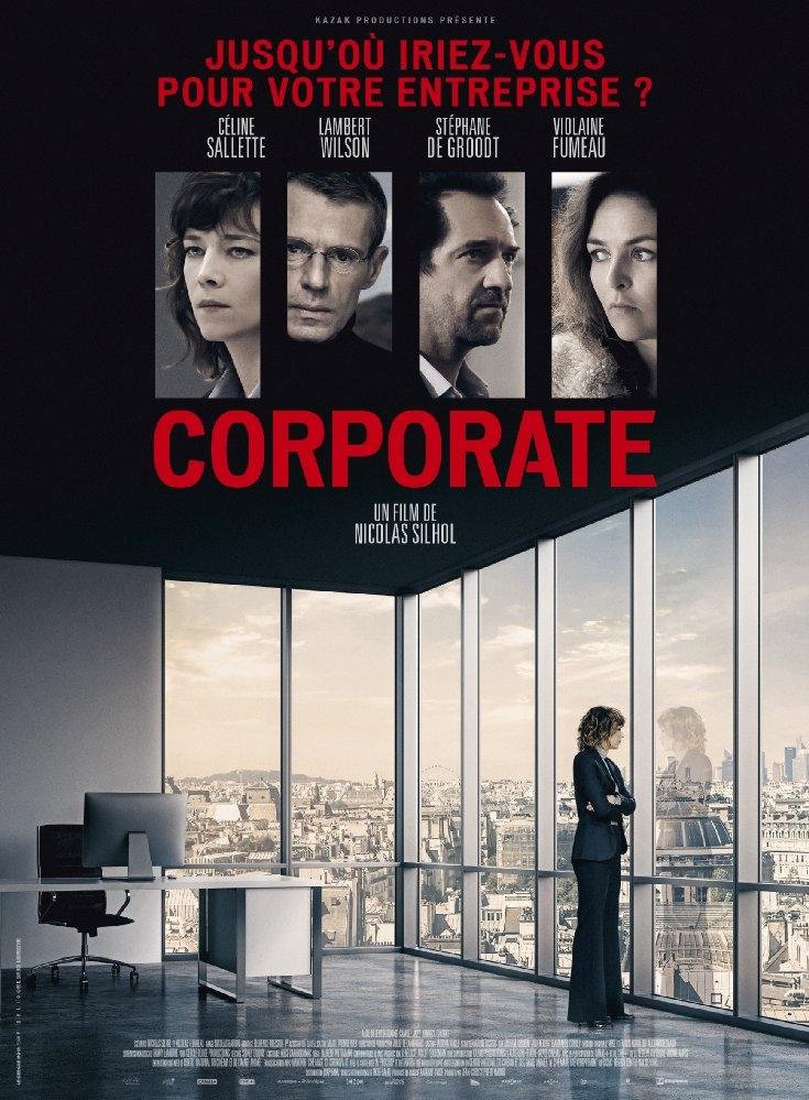 Corporate poster, copyright in handen van productiestudio en/of distributeur