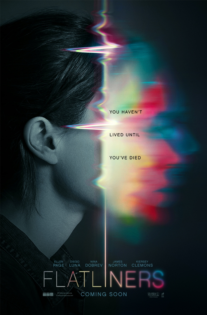Flatliners poster, © 2017 Universal Pictures International