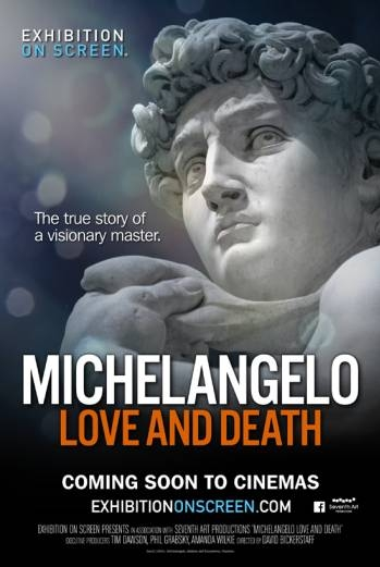 EOS: Michelangelo - Love and Death poster, copyright in handen van productiestudio en/of distributeur