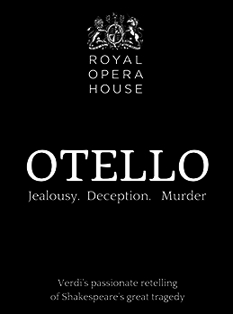 Royal Opera House: Otello poster, copyright in handen van productiestudio en/of distributeur
