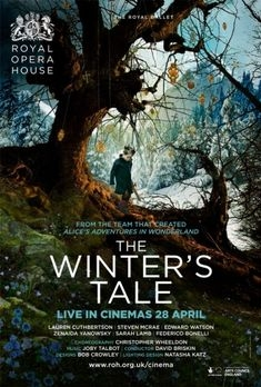 The Royal Ballet: The Winter's Tale poster, copyright in handen van productiestudio en/of distributeur
