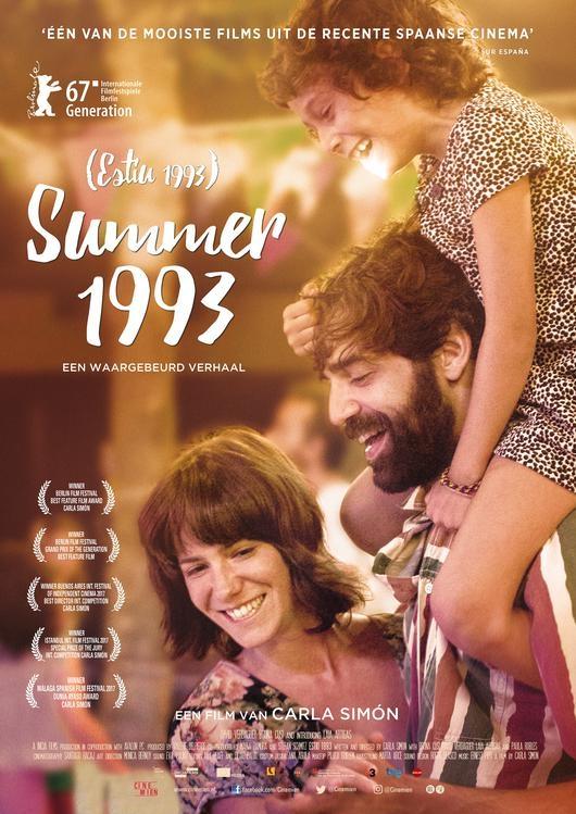 Estiu 1993 poster, © 2017 Cinemien