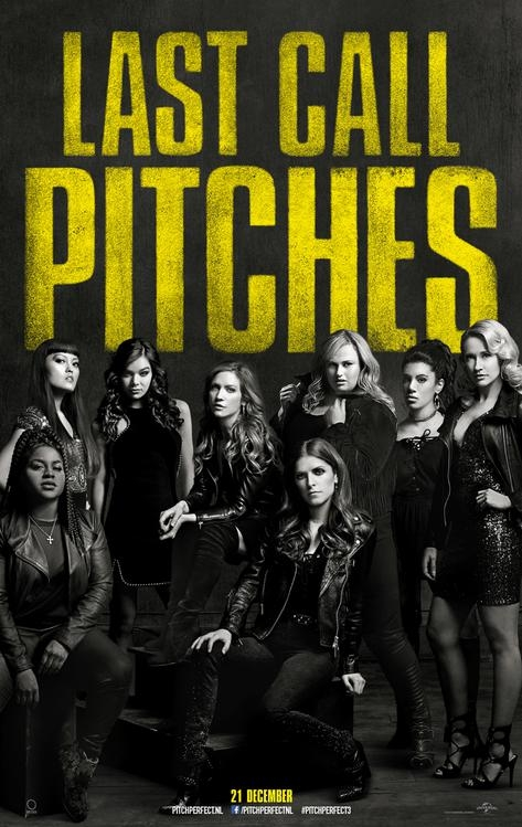 Pitch Perfect 3 poster, © 2017 Universal Pictures International