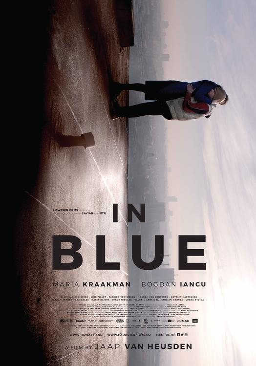 In Blue poster, © 2017 Paradiso