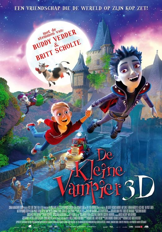 The Little Vampire 3D poster, © 2017 Entertainment One Benelux