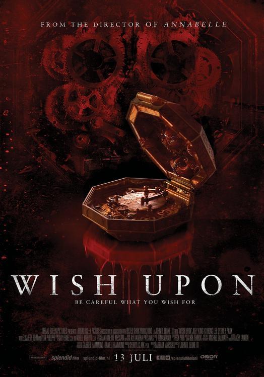 Wish Upon poster, © 2017 Splendid Film