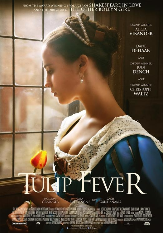 Tulip Fever poster, © 2017 Entertainment One Benelux