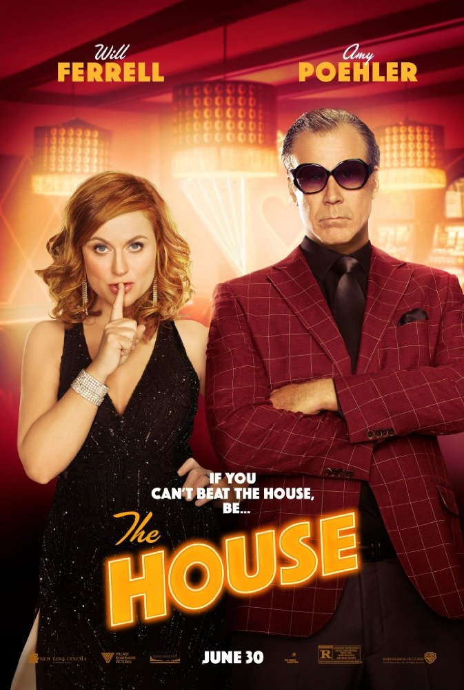 The House poster, copyright in handen van productiestudio en/of distributeur