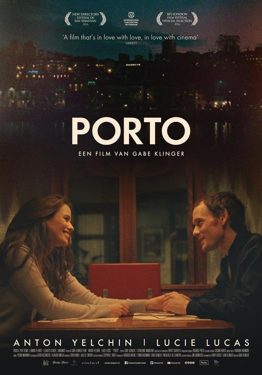 Porto poster, © 2016 Cinéart