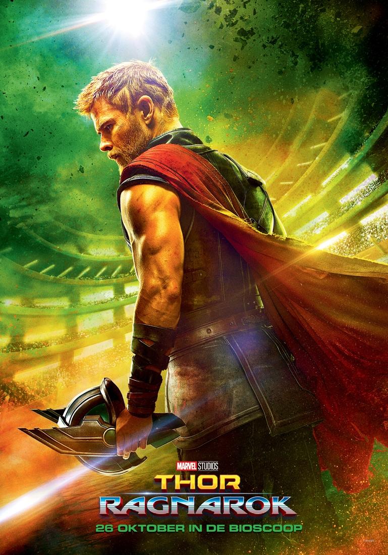 Thor: Ragnarök poster, © 2017 Walt Disney Pictures