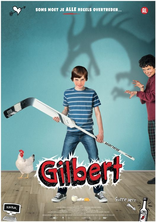 Gilbert poster, © 2016 Twin Film