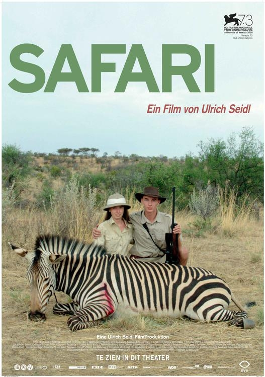 Safari poster, © 2016 Eye Film Instituut