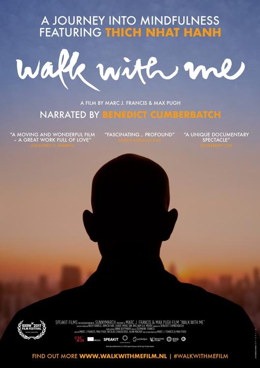Walk with Me poster, © 2017 Cinemien
