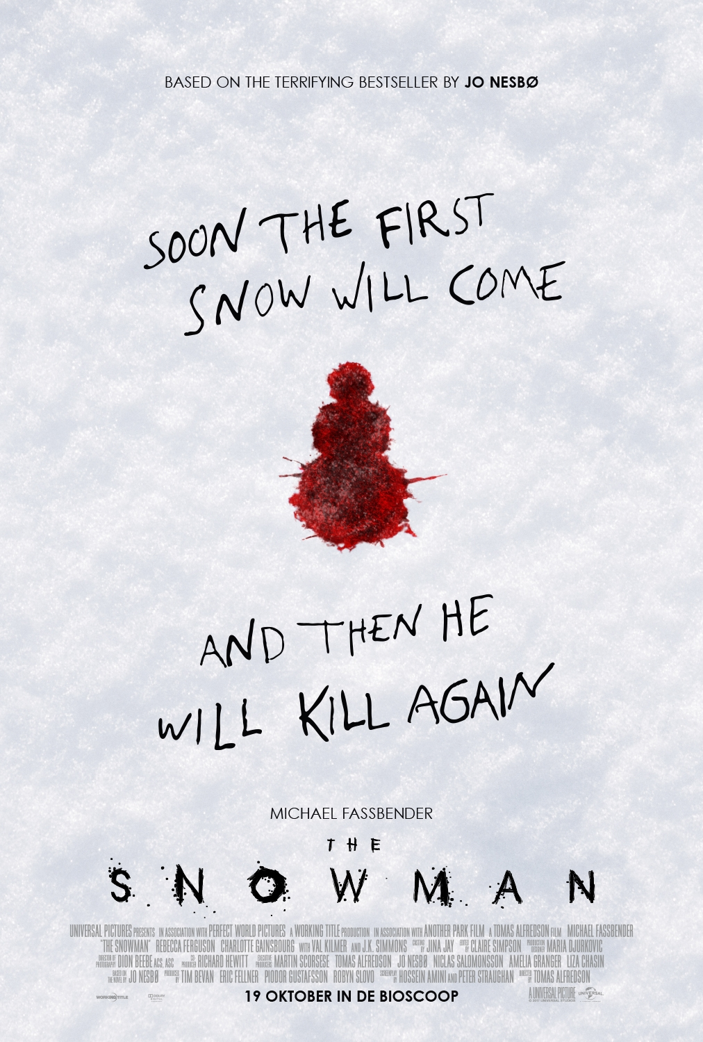 The Snowman poster, © 2017 Universal Pictures International