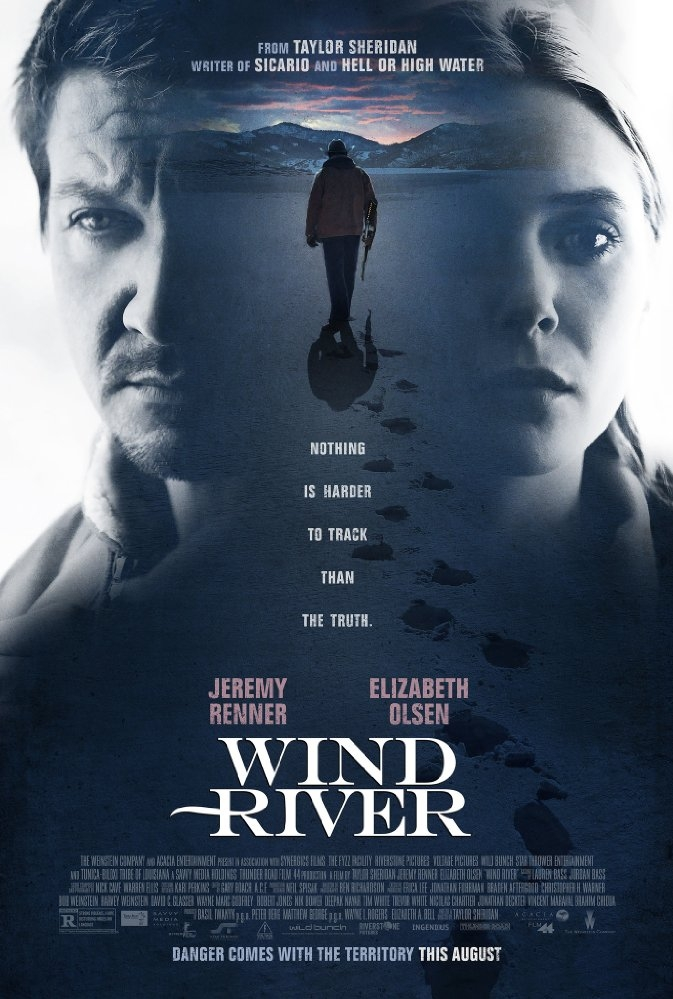 Wind River poster, © 2017 The Searchers
