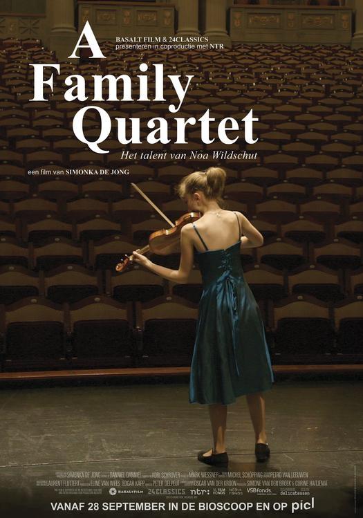 A Family Quartet poster, © 2017 Cinema Delicatessen