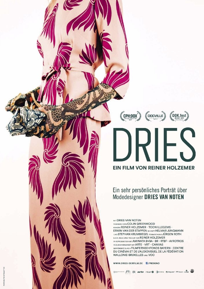Dries poster, copyright in handen van productiestudio en/of distributeur