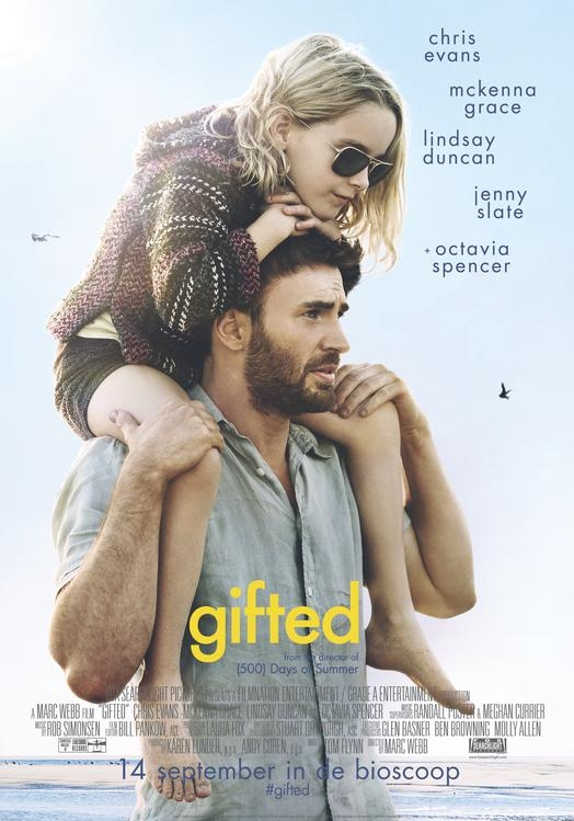 Gifted poster, © 2017 20th Century Fox