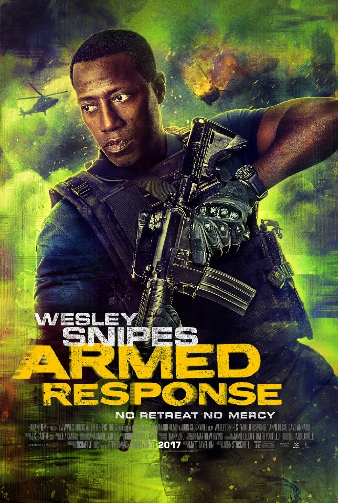 Armed Response poster, copyright in handen van productiestudio en/of distributeur
