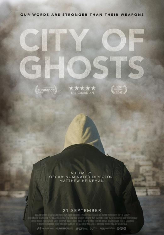 City of Ghosts poster, © 2017 Periscoop